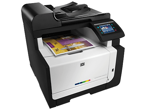 HP LaserJet Pro CM1415 Color Multifunction Printer Drivers