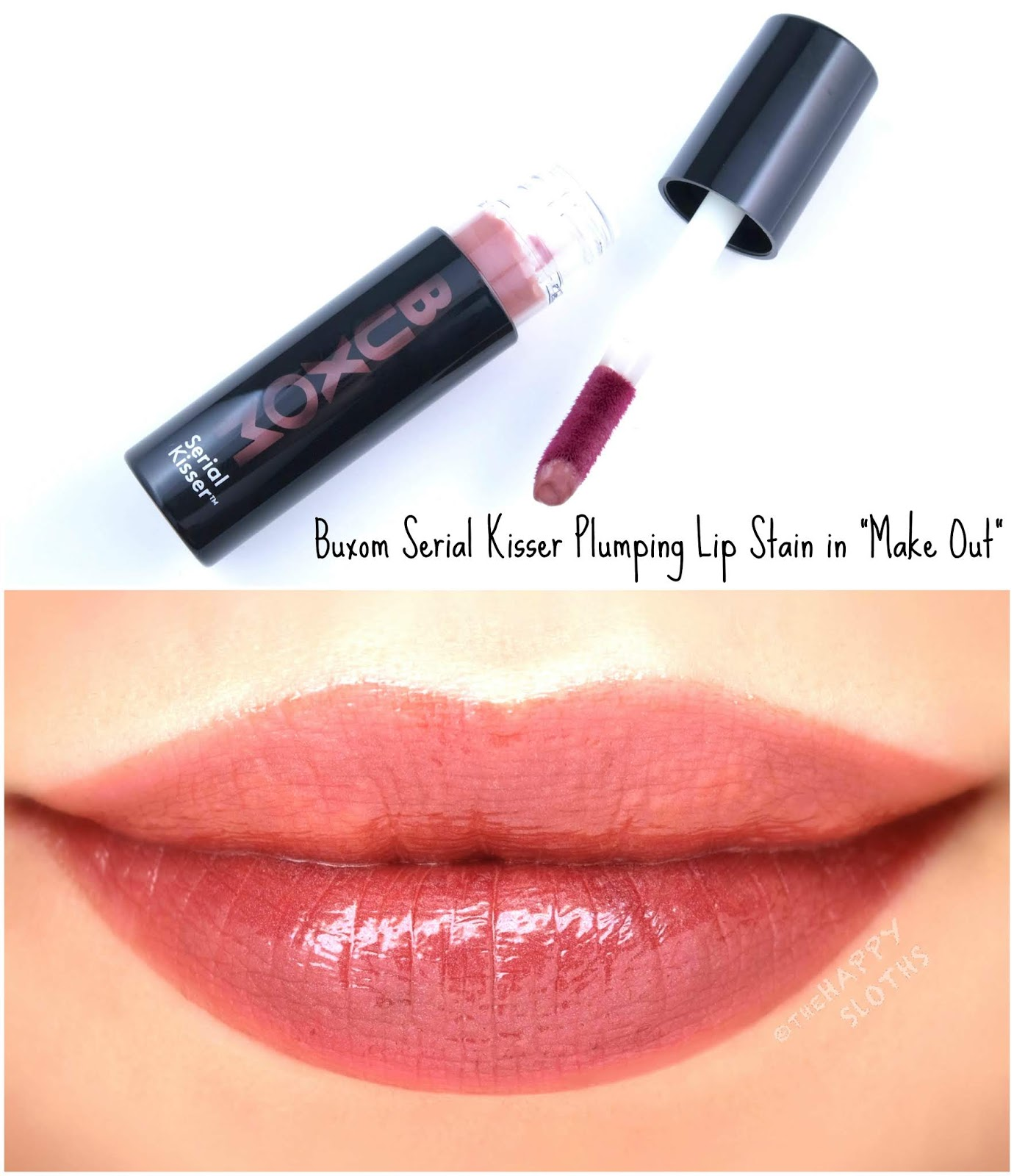 "Buxom | Serial Kisser Plumping Lip Stain in ""Make Out"": Review and Swatches"