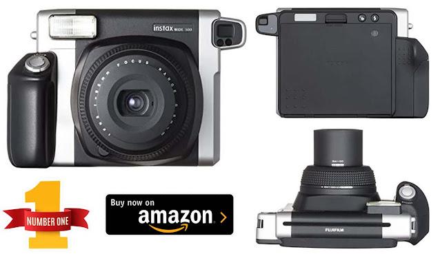 Fujifilm Instax Wide 300 Instant Film Camera (Black Color)