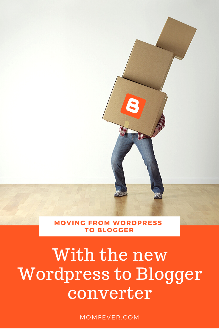 Moving from Wordpress to Blogger