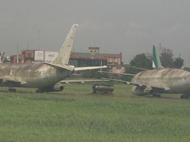 FAAN, please remove these garbage from Lagos International Airport!