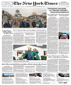 The New York Times Magazine 16 November 2020 | The New York News | Free PDF Download