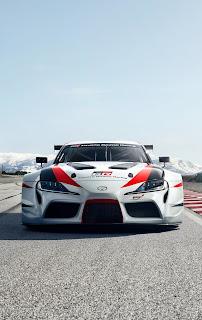 Toyota GR Supra Racing Concept Car Mobile HD Wallpaper