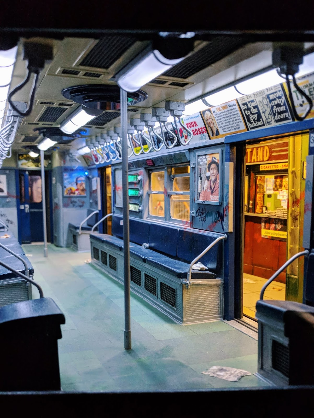 miniature of the nyc subway
