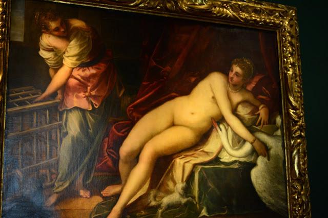 Tintoret - Leda et le cygne - 1550
