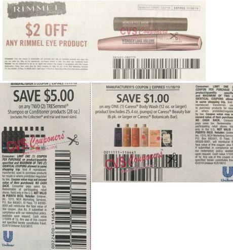 cvs couponers freebies coupon deals