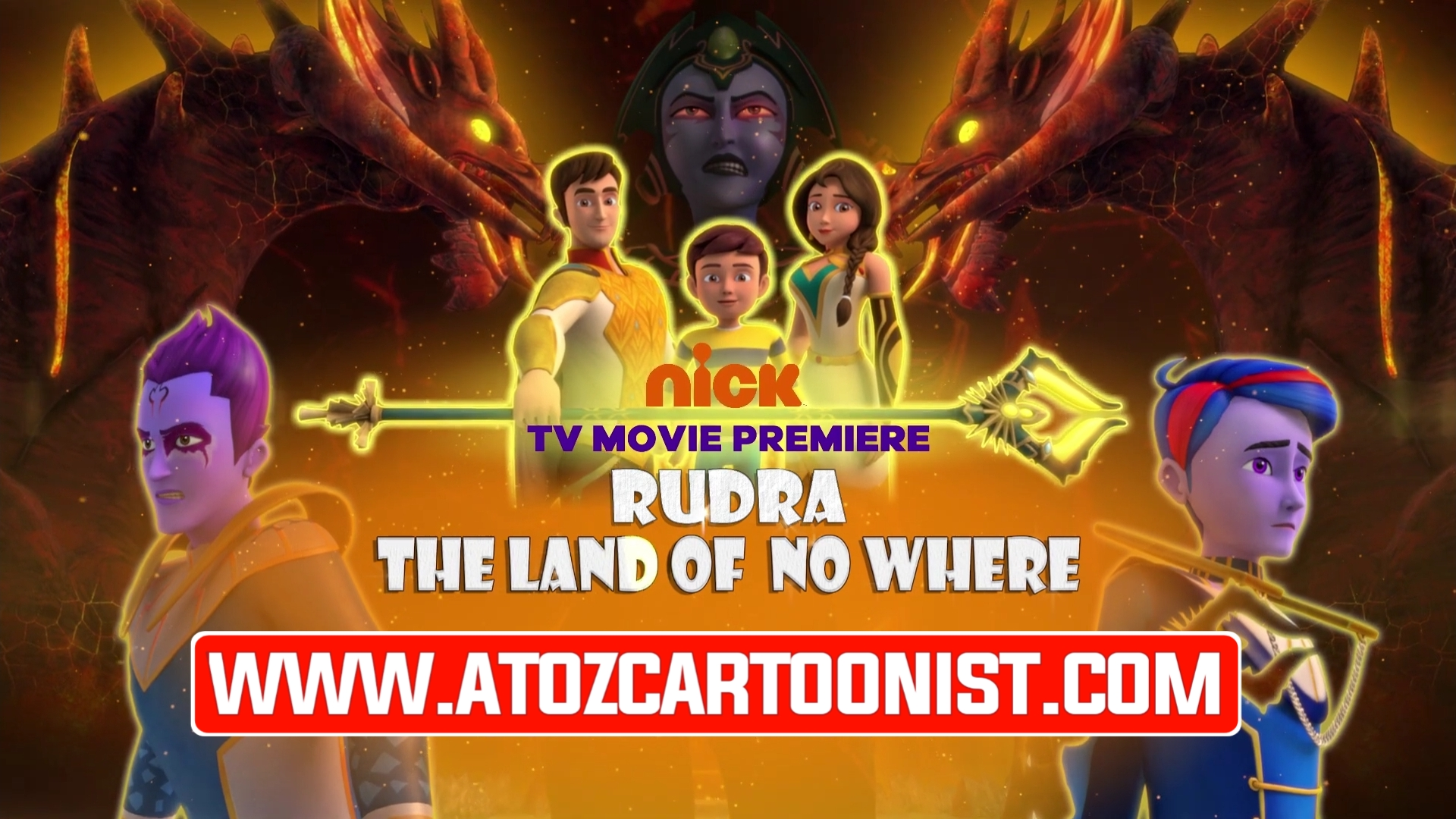 RUDRA : THE LAND OF NO WHERE FULL MOVIE IN HINDI DOWNLOAD (720P & 1080P)