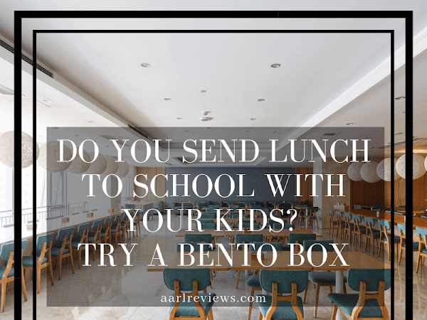 Do You Send Lunch To School With Your Kids? Try a Bento Box