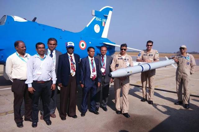 India Hawk ASRAAM missile