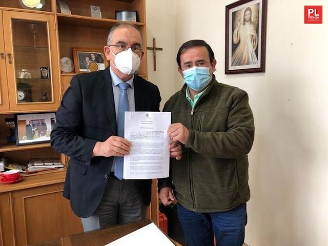Alcaldes Emeterio Carrillo y Gerardo Gunckel