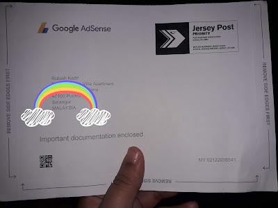 Dapat Surat Google Adsense