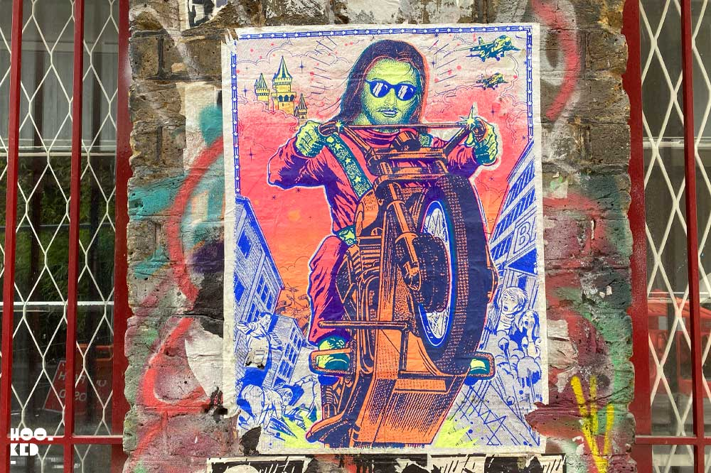 Shoreditch Street Art Paste-Ups : Artist Ben Rider