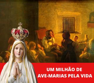 Um milhão de Ave-Marias pela Vida