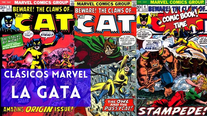 "Clásicos Marvel: ""La Gata"", de Linda Fite"