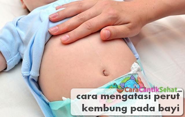 Cara Mengatasi Kembung Pada Bayi