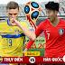Soi kèo - nhận định Thụy Điển vs Hàn Quốc - 19h00 ngày 18/6,
