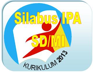 Contoh Silabus IPA SD dan MI Berdasarkan Kurikulum 2013 (Versi 2016)