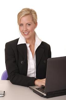 Успешная женщина в работе