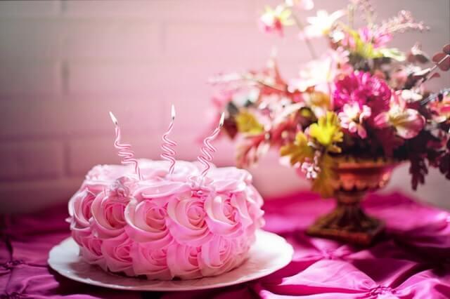 Anniversary Beautiful Birthday Birthday Cake HD Copyright Free Image