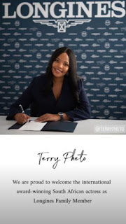 Well done! Terry Pheto bags manage Longines