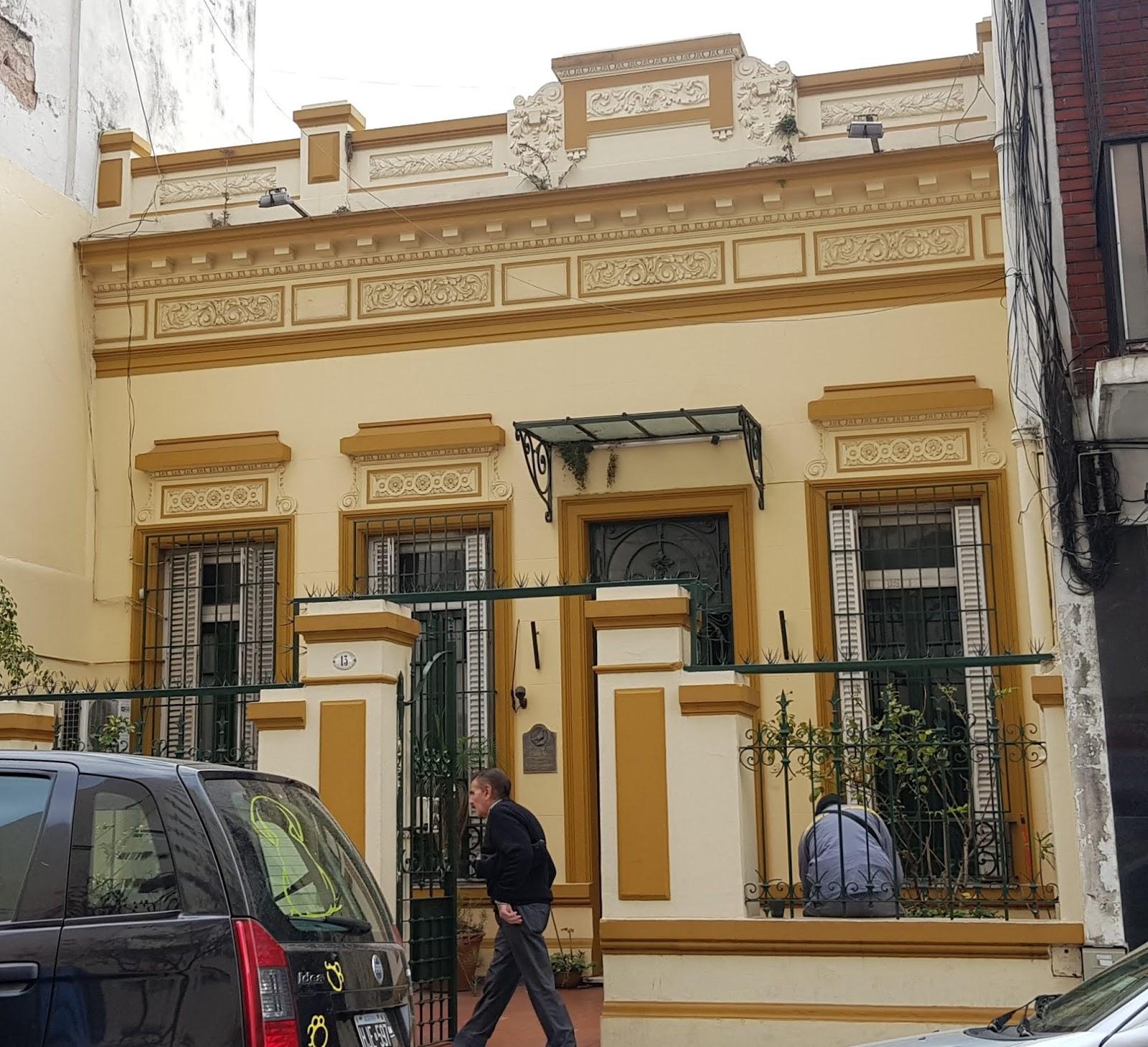Casa chorizo with front garden