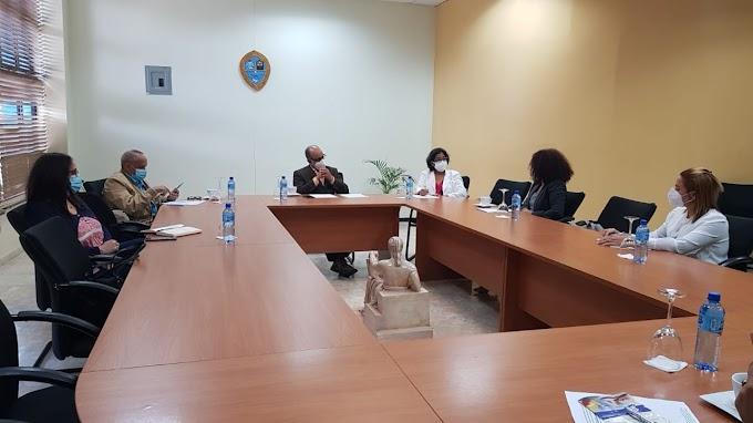 Autoridades UASD Recinto Santiago sostienen encuentro con representantes del Ministerio de Trabajo