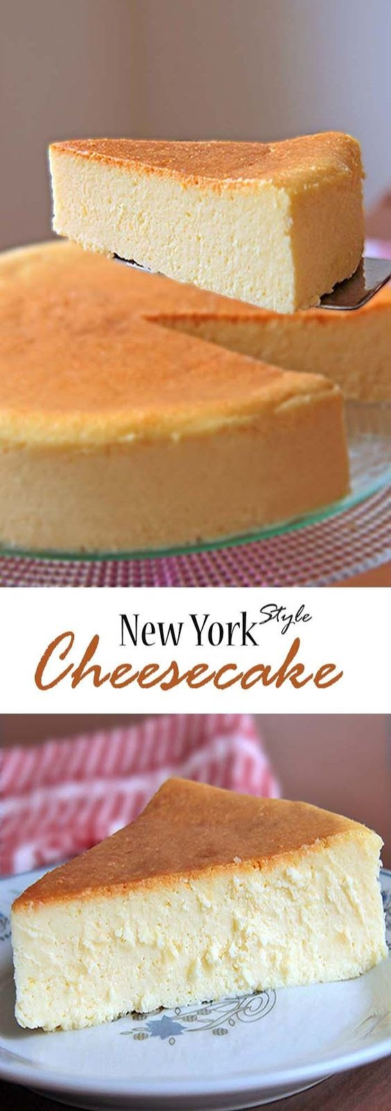 ★★★★☆ 7561 ratings | New York Style Cheesecake #HEALTHYFOOD #EASYRECIPES #DINNER #LAUCH #DELICIOUS #EASY #HOLIDAYS #RECIPE #New #York #Style #Cheesecake