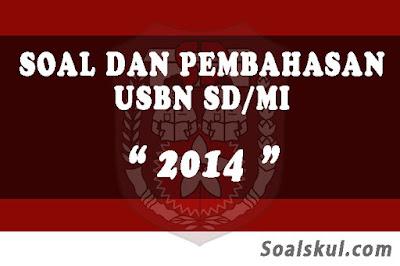 Download Soal dan Pembahasan USBN SD/MI 2014