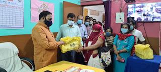 #JaunpurLive : केराकत सीएचसी का विधायक ने किया निरीक्षण
