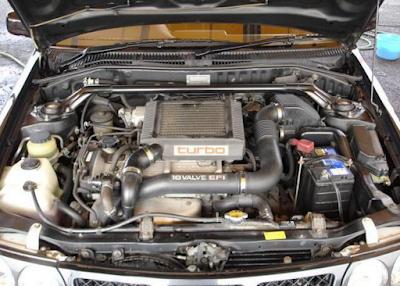 Foto Mesin Toyota Starlet Kapsul GT Turbo