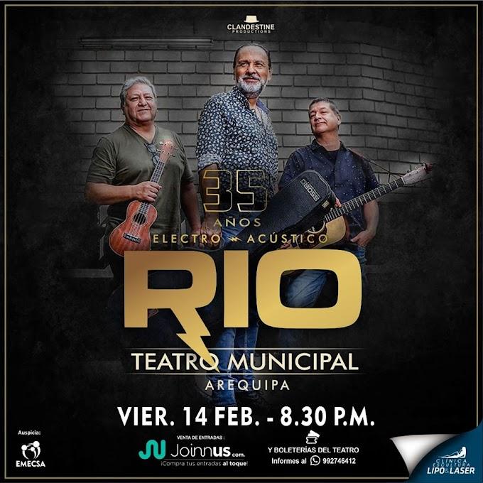 El Grupo Río celebra sus 35 años en Arequipa - 14 Febrero
