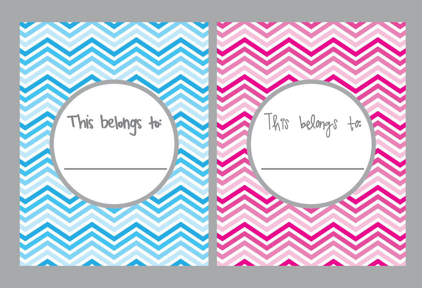 Color Combinations With Pink Elle Belle Creative School Supply Printable