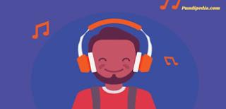 cara dapat uang dari mendengarkan musik