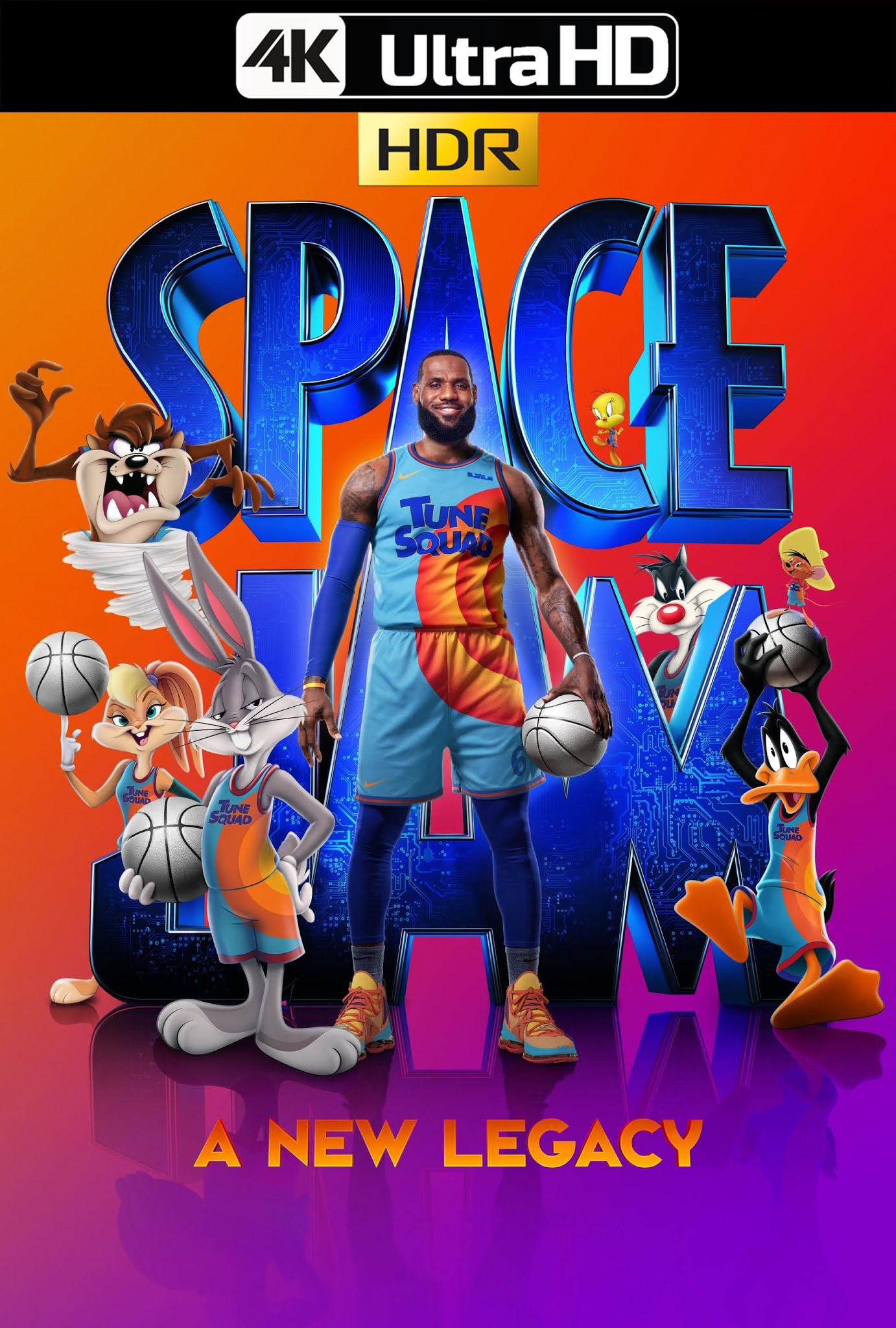 Space Jam: A New Legacy (2021) HMAX 4K-HDR WEB-DL 2160p Latino