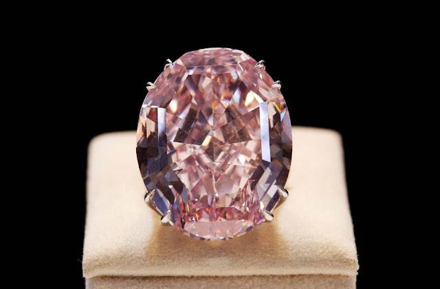berlian termahal di dunia pecahkan rekor