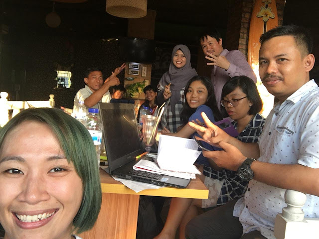 Mentoring Facebook Instagram Marketing Bersama Tim Savana Samantha Makassar