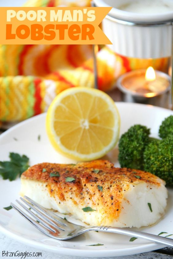 "What a great meal to put together for a dinner party or just a quiet night at home. The way this cod is prepared brings out the freshness in the seafood with no ""fishy"" taste. It really does taste like lobster!"