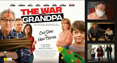 The War with Grandpa 2020 Hindi Dubbed Full Movies Download 480p HD