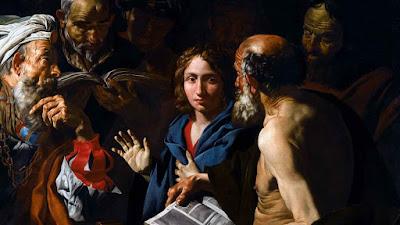 Imagem da perda e encontro do Menino Jesus, pintura, #1