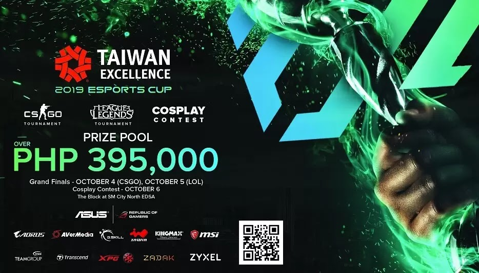 Taiwan Excellence to Hold 2019 eSports Cup in the Philippines