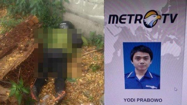 VIDEO: Wartawan Metro TV Tewas Diduga Dibunuh