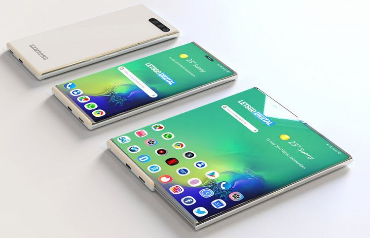 The secret announcement of Samsung. The company brought to CES 2020 a smartphone with a flexible screen in a completely new form factor