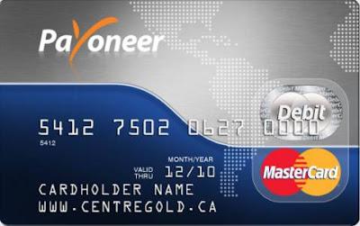 payoneer card imagen