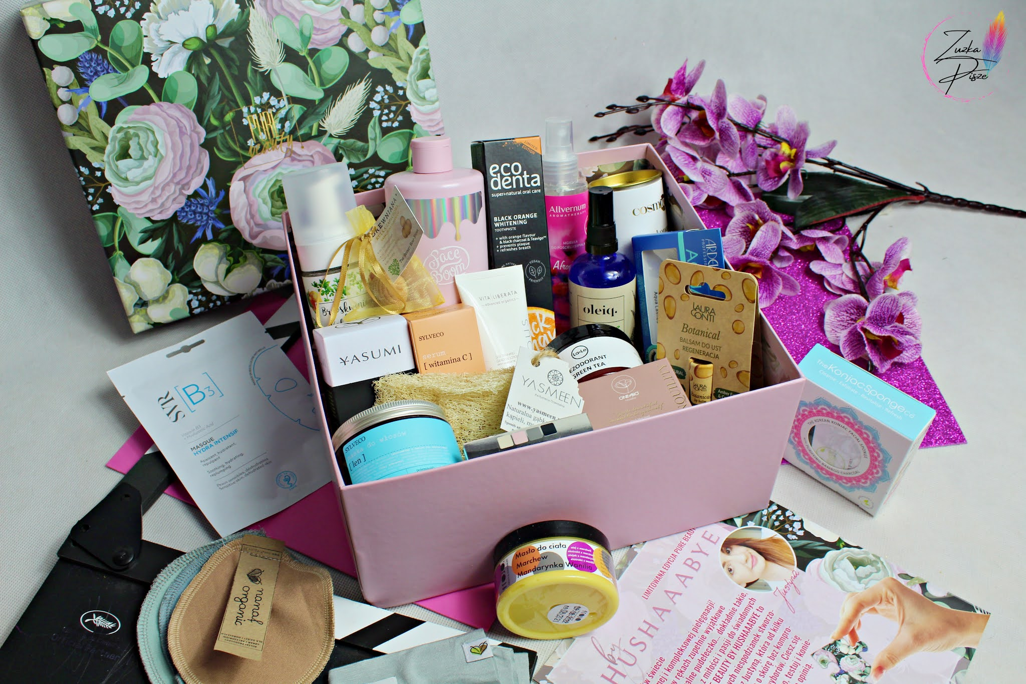 Liimtowana edycja Pure Beauty Box by HUSHAAABYE - openbox pudełka