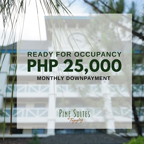 Pine Suites Tagaytay Special Promo