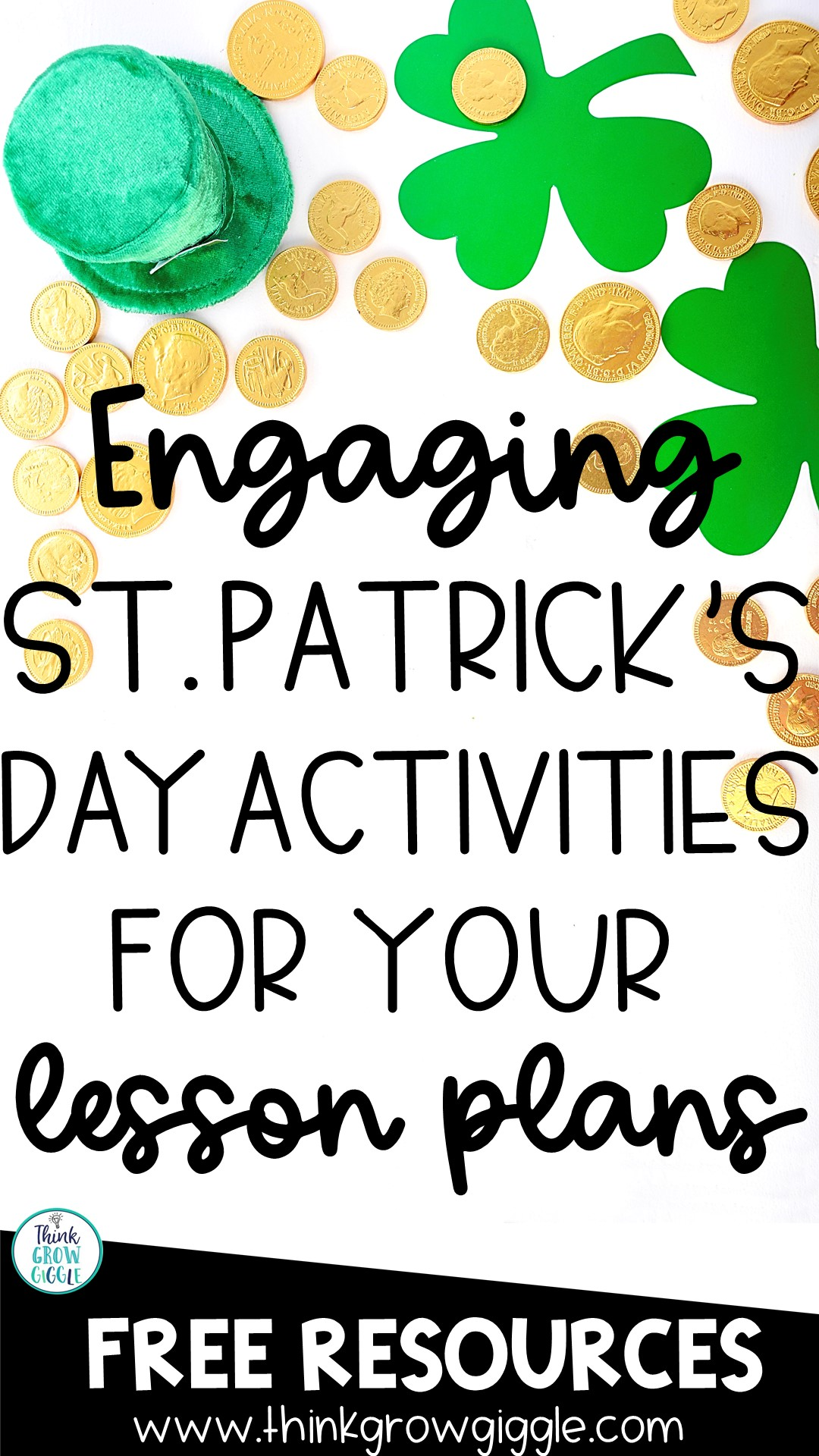 St Patricks Day activities for upper elementary