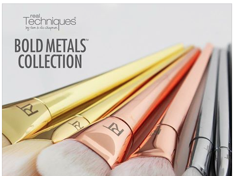 Real Techniques Bold Metal Collection