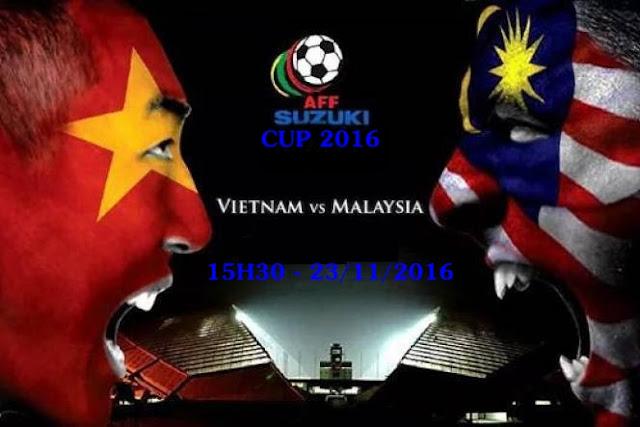 Trực tiếp Việt Nam vs Malaisia - AFF Suzuki Cup 2016