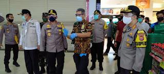 Kapolda Banten Cek Pelaksanaan PSBB dan Penerapan New Normal di Tangerang