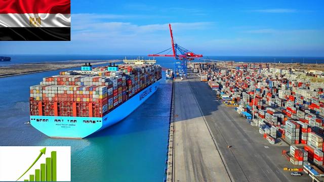 إرتفاع صادرات مصر خلال الربع الأول 2020